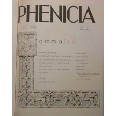 Phénicia - A Reprint of All 13 Issues of this Magazine which came out during the Period of 1938 - 1939 - In French