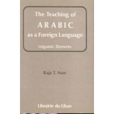 The Teaching of Arabic as a Foreign Language - Linguistic Elements