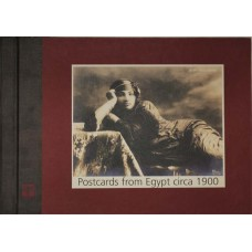 Postcards from Egypt Circa 1900 (Oversized Book in Hardcover)