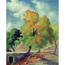 Autumn Tree, Sofar - 1952 / شجرة الخريف, صوفر - ١٩٥٢