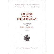 Archives Sirarpie Der Nersessian by Sylvia Agémian