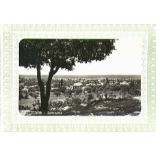 Postcard, Lebanon, Liban, Genuine 1950's Beirut, Beyrouth - Black & White Original Camera Picture from the outskirts of the Phoenician City of Sidon, Superimposed on a greetings card